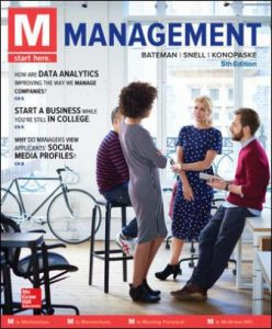 Solution Manual for M: Management 5th Edition Bateman