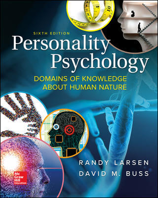 Test Bank for Personality Psychology: Domains of Knowledge About Human Nature 6th Edition Larsen