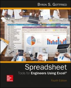 Test Bank for Spreadsheet Tools for Engineers Using Excel 4th Edition Gottfried
