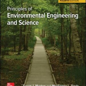 Solution Manual for Principles of Environmental Engineering & Science 4th Edition Davis