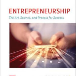 Test Bank for ENTREPRENEURSHIP: The Art, Science, and Process for Success 3rd Edition Bamford