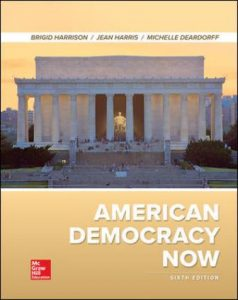 Test Bank for American Democracy Now 6th Edition Harrison