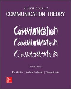 Test Bank for A First Look at Communication Theory 10th Edition Griffin