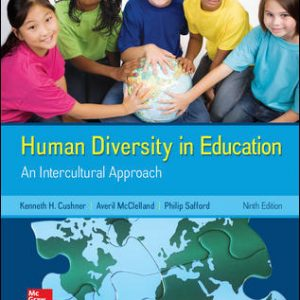 Test Bank for Human Diversity in Education 9th Edition Cushner