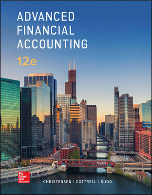 Test Bank for Advanced Financial Accounting 12th Edition Christensen