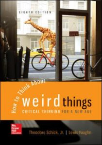 Test Bank for How to Think About Weird Things: Critical Thinking for a New Age 8th Edition Schick