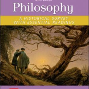 Test Bank for Philosophy: A Historical Survey with Essential Readings 10th Edition Stumpf