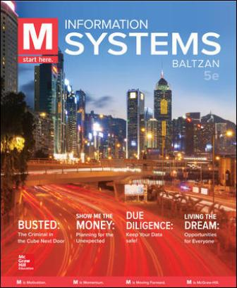 Test Bank for M: Information Systems 5th Edition Baltzan