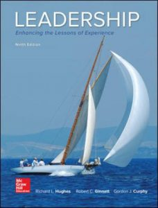 Solution Manual for Leadership: Enhancing the Lessons of Experience 9th Edition Hughes