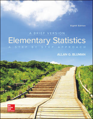 Solution Manual for Elementary Statistics: A Brief Version 8th Edition Bluman