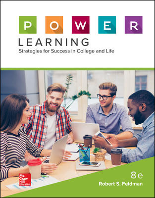 Test Bank for P.O.W.E.R. Learning: Strategies for Success in College and Life 8th Edition Feldman
