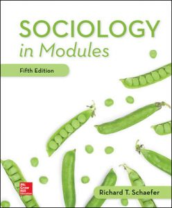 Test Bank for Sociology in Modules 5th Edition Schaefer