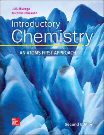 Test Bank for Introductory Chemistry: An Atoms First Approach 2nd Edition Burdge