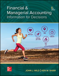 Solution Manual for Financial and Managerial Accounting 8th Edition Wild