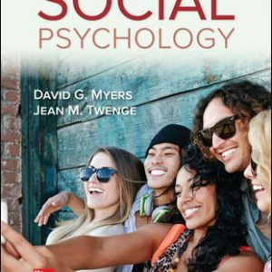 Test Bank for Social Psychology 13th Edition Myers
