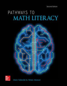 Solution Manual for Pathways to Math Literacy 2nd Edition Sobecki