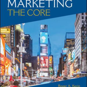 Test Bank for Marketing: The Core 8th Edition Kerin