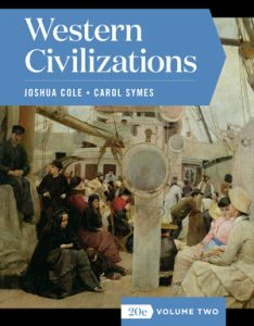 Test Bank of Western Civilizations Full 20th Edition Volume Two Cole