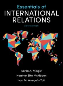 Test Bank for Essentials of International Relations 8th Edition by Mingst