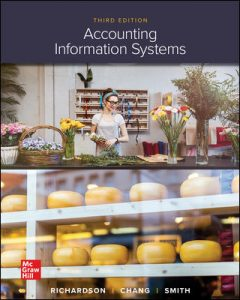 Solution Manual for Accounting Information Systems 3rd Edition Richardson