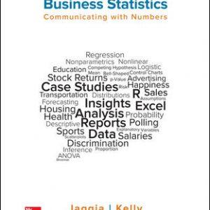 Solution Manual for Business Statistics: Communicating with Numbers 3rd Edition Jaggia