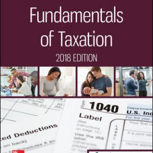 Solution Manual for Fundamentals of Taxation 2018 Edition 11th Edition Cruz