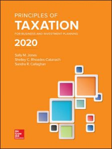 Solution Manual for Principles of Taxation for Business and Investment Planning 2020 Edition 23rd Edition Jones