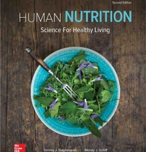 Test Bank for Human Nutrition Science for Healthy Living 2nd Edition Stephenson