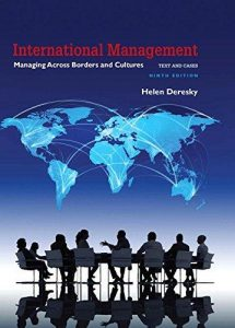 Test Bank for International Management Managing Across Borders and Cultures Text and Cases 9th Edition Deresky