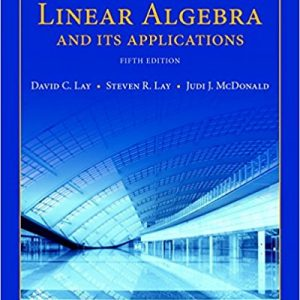 Test Bank for Linear Algebra and Its Applications 5th Edition Lay