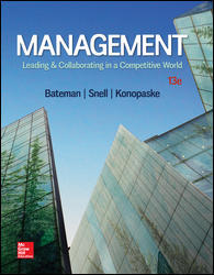 Test Bank for Management Leading & Collaborating in a Competitive World 13th Edition Konopaske