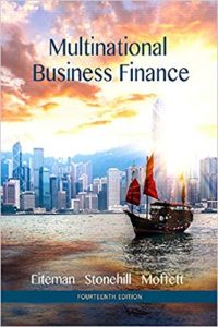 Test Bank for Multinational Business Finance 14th Edition Eiteman