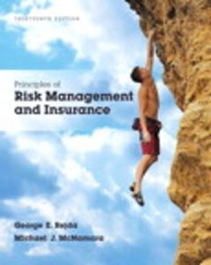 Test Bank for Principles of Risk Management and Insurance 13th Edition Rejda