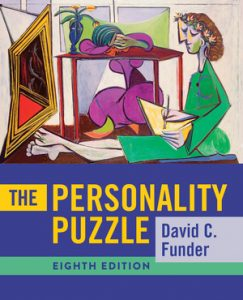 Test Bank for The Personality Puzzle 8th Edition by Funder
