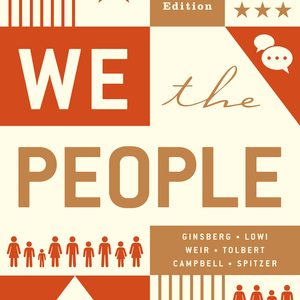Test Bank for The We the People Essentials 12th Edition by Ginsberg