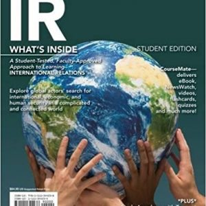 Test Bank for IR 2014 Edition 1st Edition Scott