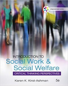 Test Bank for Introduction to Social Work & Social Welfare 5th Edition Kirst-Ashman