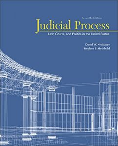 Test Bank for Judicial Process: Law Courts and Politics in the United States 7th Edition Neubauer