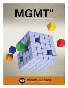 Test Bank for MGMT 11th Edition Williams