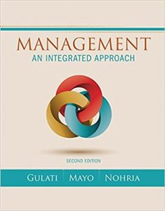 Test Bank for Management An Integrated Approach 2nd Edition Gulati