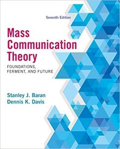 Test Bank for Mass Communication Theory 7th Edition Baran