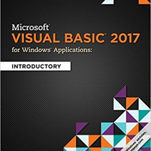Test Bank for Microsoft Visual Basic 2017 for Windows Applications: Introductory 1st Edition Hoisington