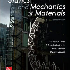 Solution Manual for Statics and Mechanics of Materials 2nd Edition Beer