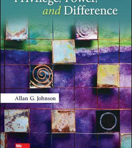 Test Bank for Privilege Power and Difference 3rd Edition Johnson