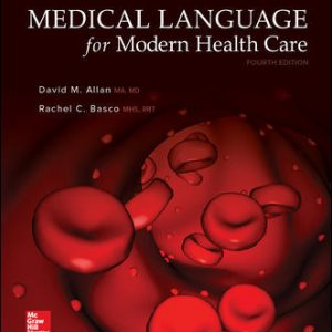 Solution Manual For Medical Language for Modern Health Care 4th Edition Allan
