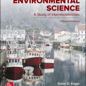 Solution Manual for Environmental Science 15th Edition Enger