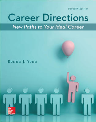 Solution Manual for Career Directions: New Paths to Your Ideal Career 7th Edition Yena
