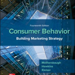 Solution Manual for Consumer Behavior: Building Marketing Strategy 14th Edition Mothersbaugh