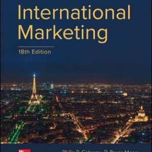 Solution Manual for International Marketing 18th Edition Cateora