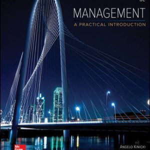 Solution Manual for Management Looseleaf 8th Edition Kinicki